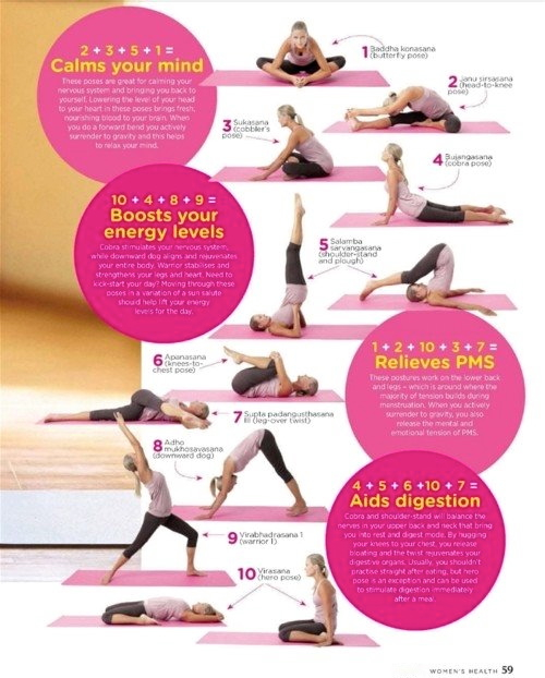 Women's Health Yoga