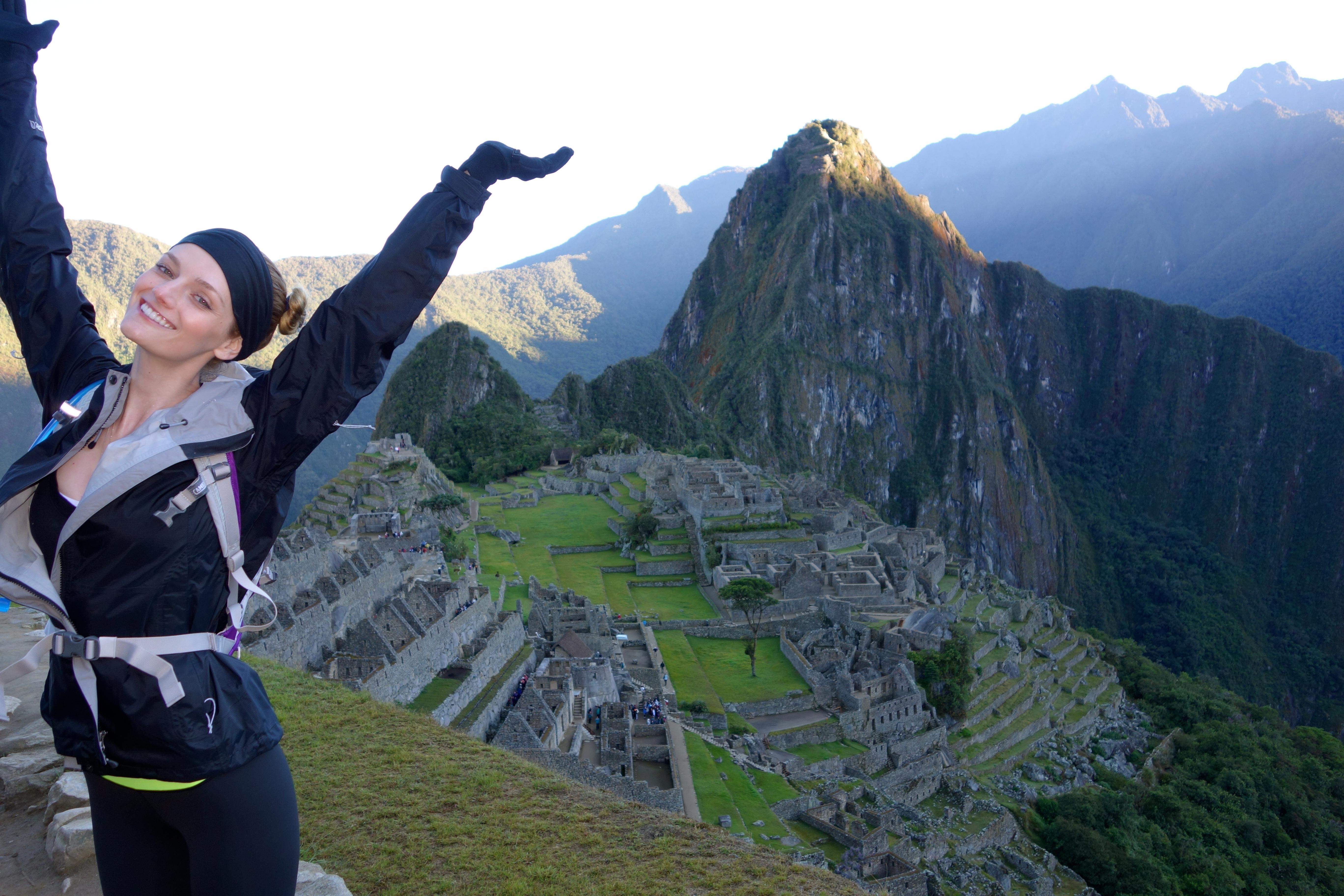 Lydia Hearst Machu Picchu
