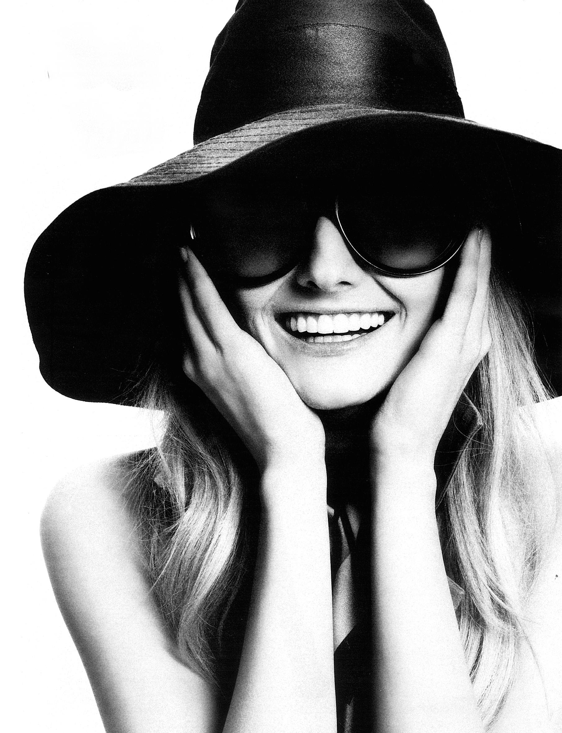 Lydia Hearst Smile