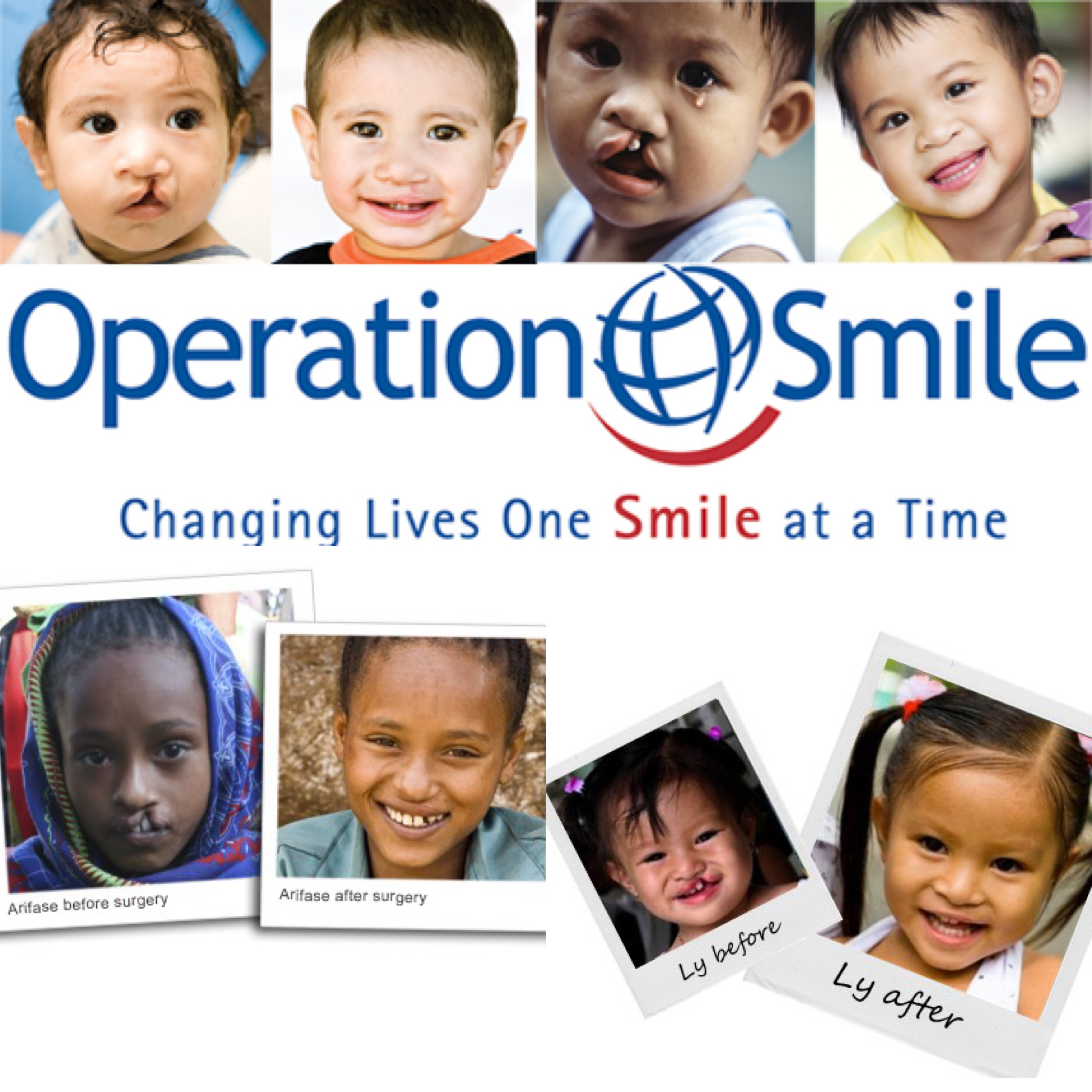 Lydia Hearst Operation Smile Charity