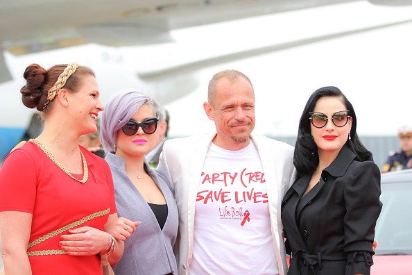 Life Ball 2015 - Celebrities Arrive In Vienna